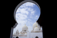 шейх UAE мечети Abu Dhabi грандиозный zayed Стоковая Фотография RF