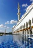 Шейх Zayed, Абу-Даби, ОАЭ Стоковые Фотографии RF