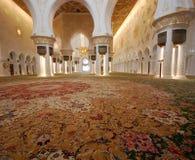 Шейх Zayed Грандиозн Мечеть Стоковые Фотографии RF