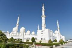 Шейх Zayed Мечеть в Абу-Даби, Объединенных эмиратах i, ОАЭ Стоковое Изображение