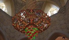 Мечеть zayed шейхом Стоковые Фото