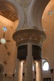 Мечеть zayed шейхом Стоковая Фотография RF