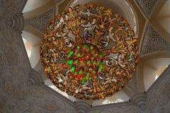 Мечеть zayed шейхом Стоковое Изображение RF