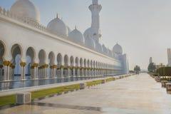 Шейх Zayed Мечеть Стоковые Фотографии RF