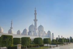 Шейх Zayed Мечеть Стоковое Изображение