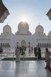 Шейх Zayed Мечеть Стоковая Фотография RF