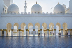 Шейх Zayed Мечеть Стоковое Фото