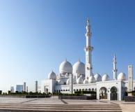 Шейх Zayed Мечеть Abu Dhabi Стоковая Фотография