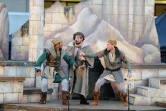 Шекспир морем в университете Soka США 10-ое августа 2016 Стоковые Фото