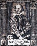 Шекспир william Стоковые Фотографии RF