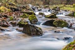 Шелковистый поток горы Стоковые Фотографии RF