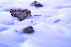 Шелковистый поток Стоковое Изображение