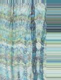 Шелк в сини стоковая фотография
