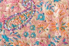 шелк картины цветка Стоковые Фото
