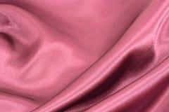 шелк красного цвета предпосылки Стоковые Фотографии RF