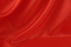 шелк красного цвета 2 предпосылок Стоковые Фото