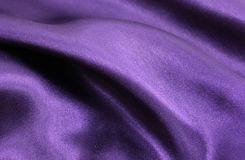 шелк пурпура предпосылки Стоковая Фотография
