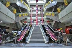 шелк рынка hangzhou Стоковое фото RF