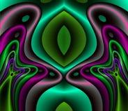 шелк сатинировки фрактали королевский Стоковое Изображение