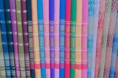 шелк тайский Стоковое Фото