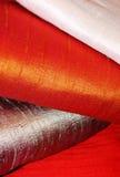 шелк ткани сырцовый Стоковое Изображение