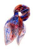 шелк шарфа стоковые изображения