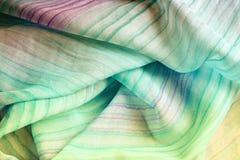шелк шарфа Стоковая Фотография