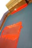 шелк экрана печатания Стоковые Фото