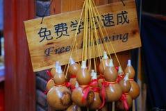 Шелк gourd бутылки Стоковые Фотографии RF