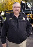 Шериф Джо Arpaio Maricopa County Стоковое фото RF