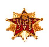 шериф значка Стоковая Фотография RF