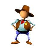 шериф clipart Стоковое Изображение RF