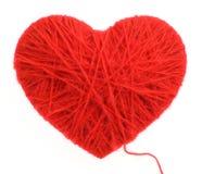 шерсти сердца стоковая фотография