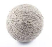 шерсти серой белизны шарика Стоковая Фотография