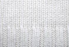 шерсти текстуры свитера Стоковые Фото
