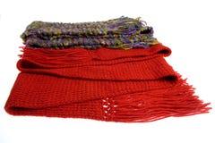 шерсти шарфов Стоковая Фотография