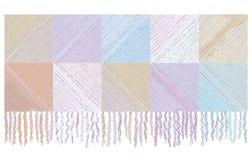 шерсти шотландки одеяла предпосылки Стоковое Изображение RF