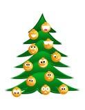 шерсть tree3 рождества иллюстрация вектора