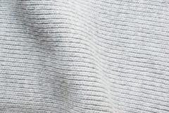 Шерстяная вязать крючком крючком текстура ткани малая Стоковые Изображения