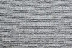 Шерстяная вязать крючком крючком текстура ткани Стоковое фото RF