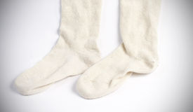 Шерстяные носки Стоковая Фотография