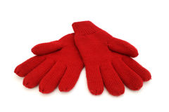 Шерстяные перчатки стоковое изображение rf