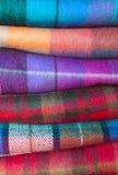 Шерстяные шотландки Стоковые Фотографии RF