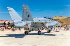 Шершень McDonnell Douglas F/A-18 воздушных судн Стоковые Фото