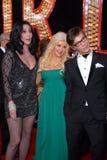 Шер, Кристина Aguilera, Стив Antin стоковые фото