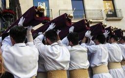 шествие базилики Santa Maria Стоковая Фотография