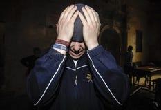 шествие базилики Santa Maria Стоковое фото RF