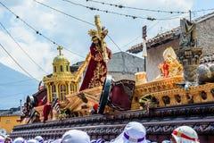 Шествие воскресенья ладони, Антигуа, Гватемала Стоковое Изображение
