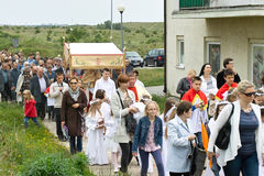 шествие дня сборника christi вероисповедное Стоковая Фотография RF