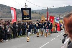 Шествие людей во время фестиваля в од Стоковая Фотография